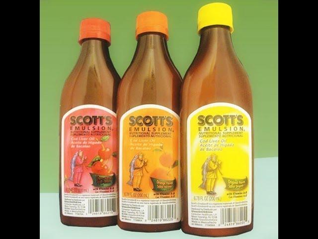 Emulsión de Scott, Beneficios